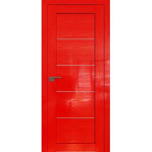 Дверь Профиль дорс 2.11STP Pine Red glossy - со стеклом