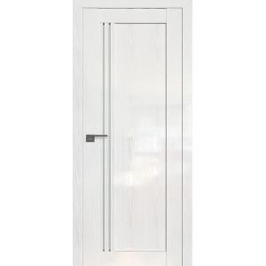 Дверь Профиль дорс 2.50STP Pine White glossy - со стеклом