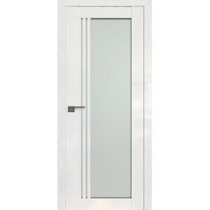 Дверь Профиль дорс 2.51STP Pine White glossy - со стеклом