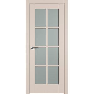 Дверь Профиль дорс 101U Санд - со стеклом