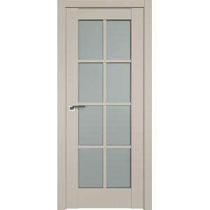 Дверь Профиль дорс 101U Шеллгрей - со стеклом