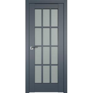 Дверь Профиль дорс 102U Антрацит - со стеклом