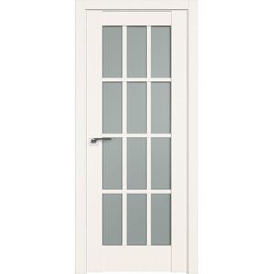 Дверь Профиль дорс 102U Дарк вайт - со стеклом