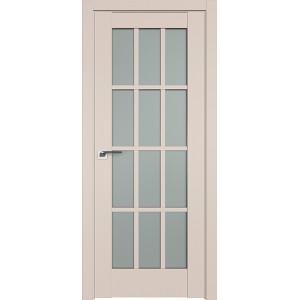 Дверь Профиль дорс 102U Санд - со стеклом