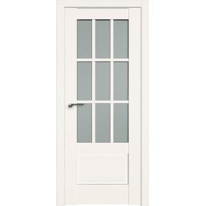 Дверь Профиль дорс 104U Дарк вайт - со стеклом