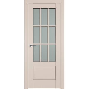 Дверь Профиль дорс 104U Санд - со стеклом