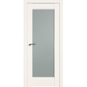 Дверь Профиль дорс 107U Дарк вайт - со стеклом