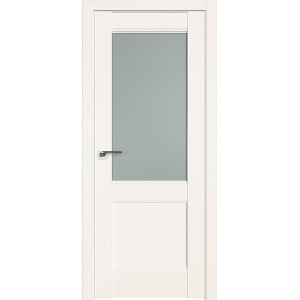 Дверь Профиль дорс 109U Дарк вайт - со стеклом