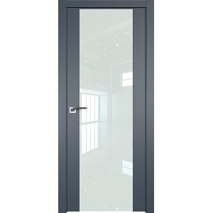 Дверь Профиль Дорс 110U Антрацит - со стеклом