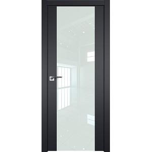 Дверь Профиль Дорс 110U Черный матовый - со стеклом