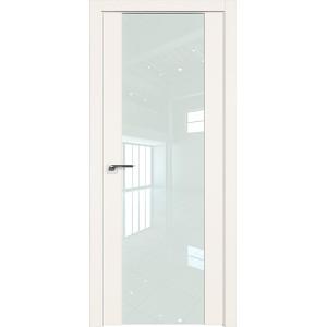 Дверь Профиль дорс 110U Дарк вайт - со стеклом