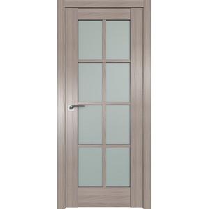 Дверь Профиль дорс 101X Орех пекан - со стеклом