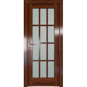 Дверь Профиль дорс 102X Орех амари - со стеклом