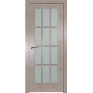 Дверь Профиль дорс 102X Орех пекан - со стеклом