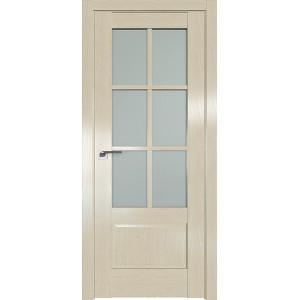 Дверь Профиль дорс 103X Эш вайт - со стеклом