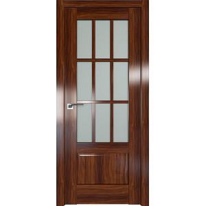 Дверь Профиль дорс 104X Орех амари - со стеклом