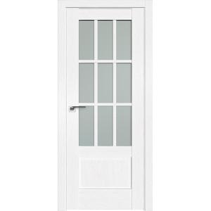 Дверь Профиль дорс 104X Пекан белый - со стеклом