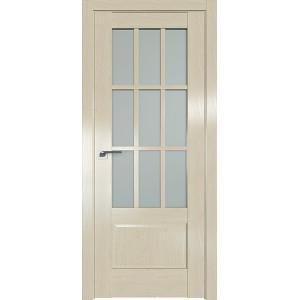 Дверь Профиль дорс 104X Эш вайт - со стеклом