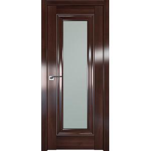 Дверь Профиль дорс 24X Орех сиена - со стеклом