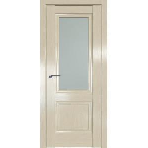 Дверь Профиль дорс 2.37X Эш вайт - со стеклом