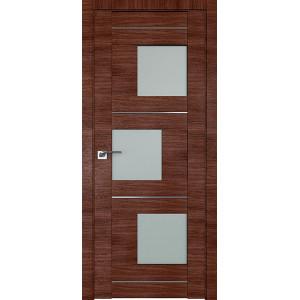 Дверь Профиль дорс 13X Малага черри кроскут - со стеклом