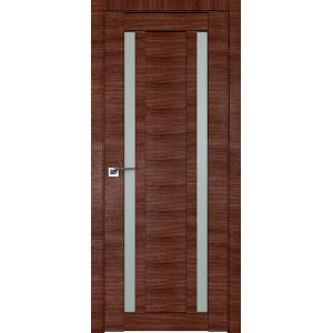 Дверь Профиль дорс 15X Малага черри кроскут - со стеклом