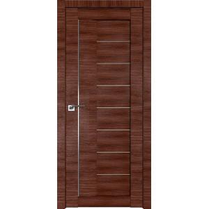 Дверь Профиль дорс 17X Малага черри кроскут - со стеклом