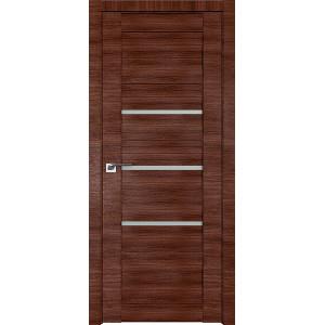 Дверь Профиль дорс 18X Малага черри кроскут - со стеклом