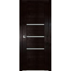 Дверь Профиль дорс 18X Венге мелинга - со стеклом