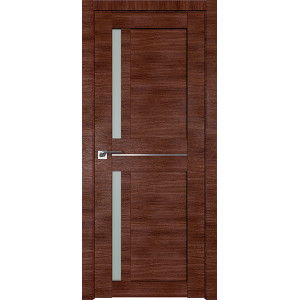 Дверь Профиль дорс 19X Малага черри кроскут - со стеклом