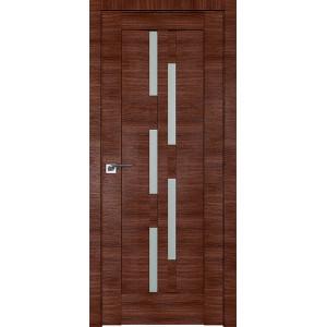 Дверь Профиль дорс 30X Малага черри кроскут - со стеклом