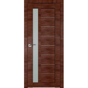 Дверь Профиль дорс 37X Малага черри кроскут - со стеклом