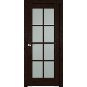 Дверь Профиль дорс 101XN Дарк браун - со стеклом