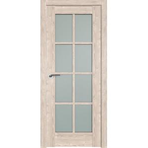 Дверь Профиль дорс 101XN Каштан светлый - со стеклом