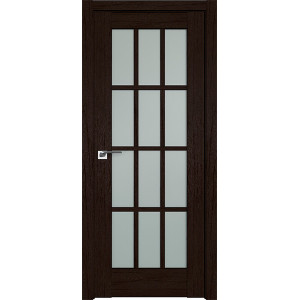Дверь Профиль дорс 102XN Дарк браун - со стеклом