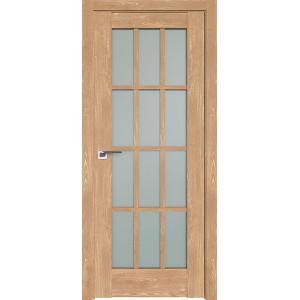 Дверь Профиль дорс 102XN Каштан натуральный - со стеклом