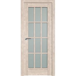 Дверь Профиль дорс 102XN Каштан светлый - со стеклом
