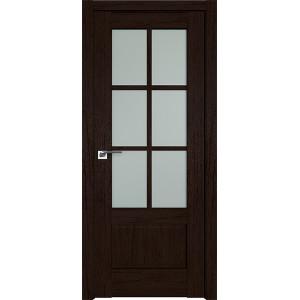 Дверь Профиль дорс 103XN Дарк браун - со стеклом