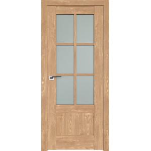 Дверь Профиль дорс 103XN Каштан натуральный - со стеклом