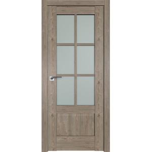Дверь Профиль дорс 103XN Каштан темный - со стеклом