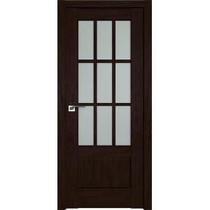 Дверь Профиль дорс 104XN Дарк браун - со стеклом