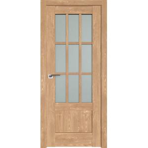 Дверь Профиль дорс 104XN Каштан натуральный - со стеклом