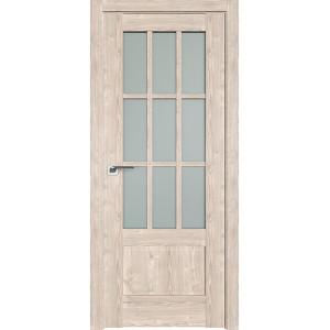 Дверь Профиль дорс 104XN Каштан светлый - со стеклом
