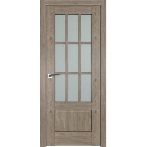 Дверь Профиль дорс 104XN Каштан темный - со стеклом