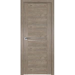 Дверь Профиль дорс 150XN Каштан темный - глухая