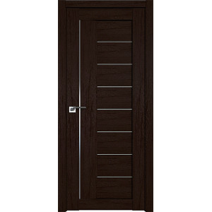 Дверь Профиль дорс 17XN Дарк браун - со стеклом