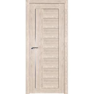 Дверь Профиль дорс 17XN Каштан светлый - со стеклом