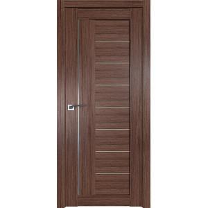 Дверь Профиль дорс 17XN Салинас темный - со стеклом