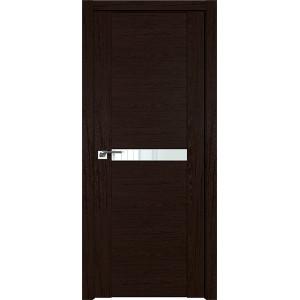 Дверь Профиль дорс 2.01XN Дарк браун - со стеклом