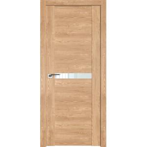 Дверь Профиль дорс 2.01XN Каштан натуральный - со стеклом